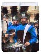 Drummers Duvet Cover