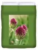 Drumstick Allium Duvet Cover