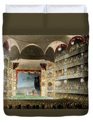 Drury Lane Theater Duvet Cover