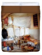 Dry Cleaner - The Laundry Room Duvet Cover by Mike Savad