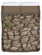 Dry Cracked Mud  Duvet Cover