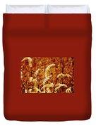 Dry Grass Duvet Cover