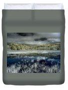 Dry Lagoon Winter Duvet Cover