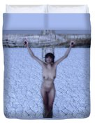 Dry Land Duvet Cover