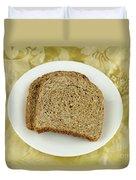 Dry Toast Duvet Cover