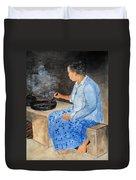 Dryng Coffee Duvet Cover