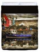Tobermory Isle Of Mull Duvet Cover
