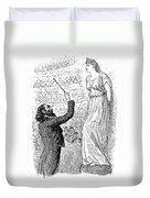 Du Maurier: Trilby, 1894 Duvet Cover