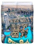 Dubai Downtown - Uae Duvet Cover