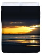 Dublin Bay Sunset Duvet Cover