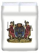 Dublin Coat Of Arms Duvet Cover