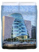 Dublin Convention Centre Republic Of Ireland Duvet Cover