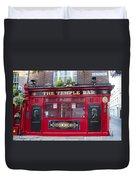 Dublin Ireland - The Temple Bar Duvet Cover