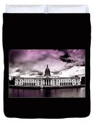 Dublin - The Custom House - Lilac Duvet Cover