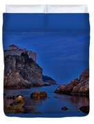 Dubrovnik Bay Duvet Cover
