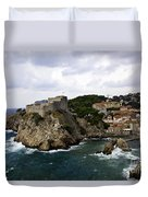 Dubrovnik In Focus Duvet Cover