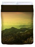Dubrovnik Islands  Duvet Cover