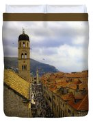 Dubrovnik - Old City Duvet Cover