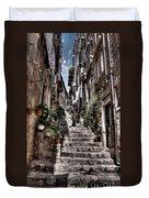 Dubrovnik Streets 6 Duvet Cover