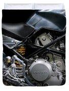 Ducati Monster Cafe Racer Engine Duvet Cover