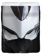 Ducati-unplugged V12 Duvet Cover