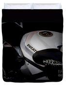 Ducati-unplugged V13 Duvet Cover