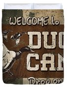 Duck Camp Duvet Cover by JQ Licensing