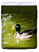 Duck In The Park Duvet Cover