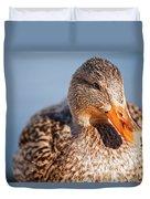 Duck In Water Duvet Cover