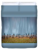 Duck Reflections Duvet Cover