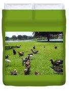 Duck Season Duvet Cover
