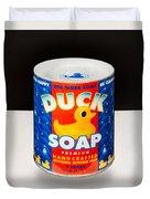 Duck Soap Duvet Cover