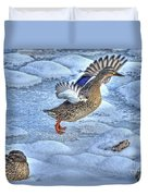 Duck Take-off Duvet Cover