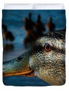 Duck Watching Ducks Duvet Cover