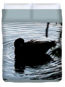 Duck Waves Duvet Cover