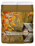 Duck's House Duvet Cover by Evgeni Dinev