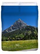 Duendenhorn Mountain Duvet Cover