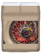 Duesenberg Wheel Duvet Cover