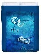 Duet - Blue03 Duvet Cover