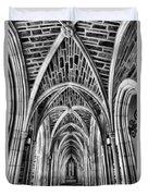 Duke Chapel Arches Duvet Cover