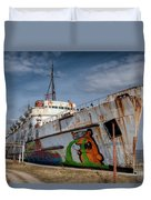 Duke Of Graffiti Duvet Cover