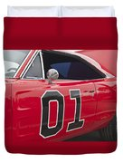 Dukes Of Hazard General Lee Duvet Cover