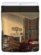 Dukes Own Room, Apsley House, By T. Boys Duvet Cover