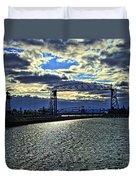 Duluth Lift Bridge Duvet Cover