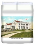 Duluth Minnesota - Northland Country Club - 1915 Duvet Cover