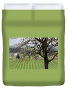 Dundee Hills Wine Country Duvet Cover