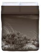 Dune And Blue Sky Duvet Cover
