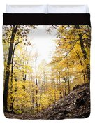 Dune Land Forest Duvet Cover