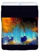 Dunes At Dusk Duvet Cover