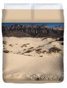 Dunes At The Guadalupes Duvet Cover